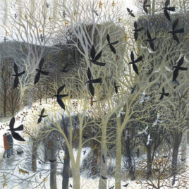 Winter Path by Dee Nickerson