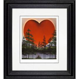 Power-of-love, red heart, byMackenzie Thorpe