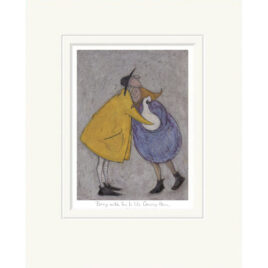 Being with you is like coming home by Sam Toft