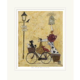 We're not lost, We're on our way By Sam Toft