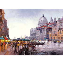 Venetian Lovesong Canvas by Henderson Cisz