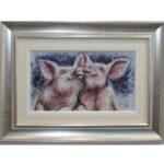 Happy Hoglets by Ruby Keller