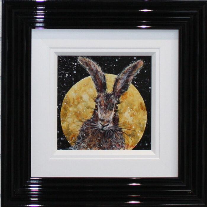 Moonlight Hare, Original by Ruby Keller