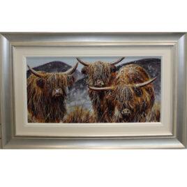 Highland Family by Ruby Keller