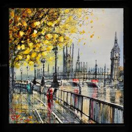 London Spires,by Nigel Cooke